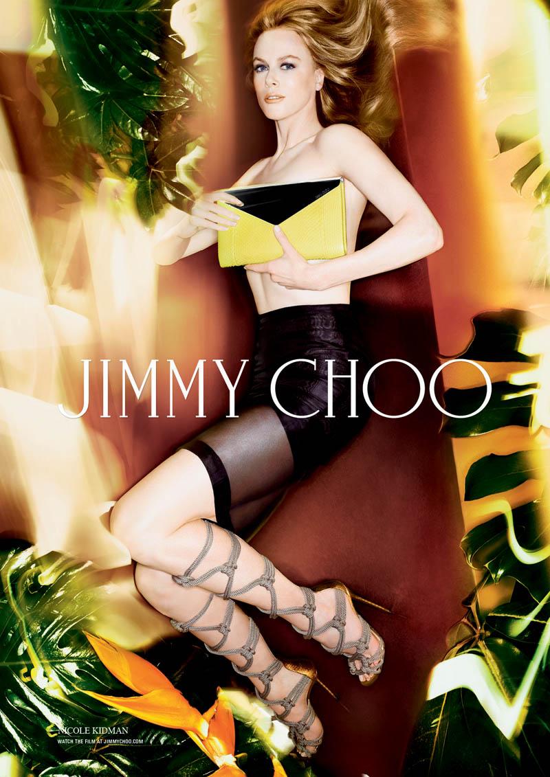 jimmy choo nicole kidman spring campaign2 Nicole Kidman Gets Leggy for Jimmy Choo Spring/Summer 2014 Campaign