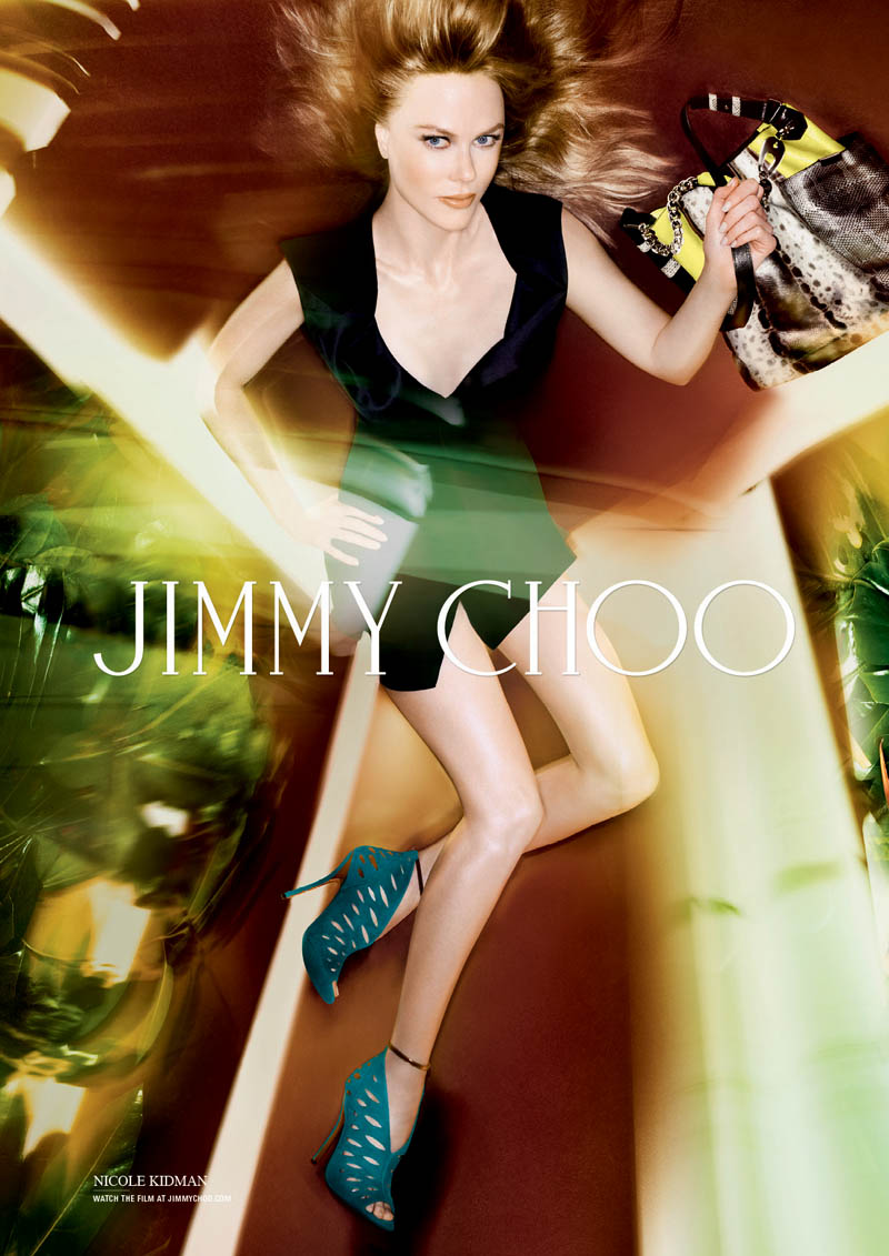 Nicole Kidman appeared in Jimmy Choo's spring 2014 campaign