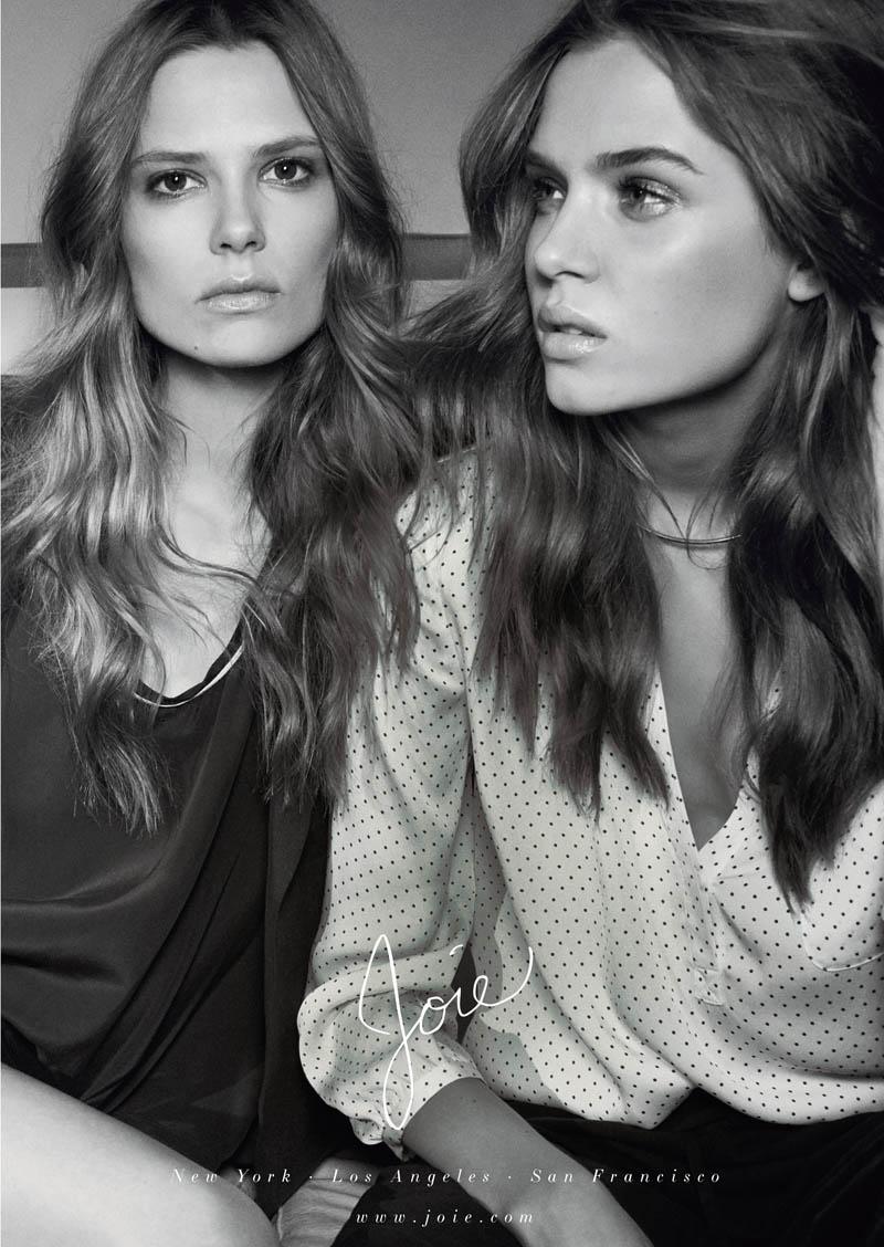 Caroline Brasch Nielsen + Josephine Skriver Front Joie Spring/Summer 2014 Campaign