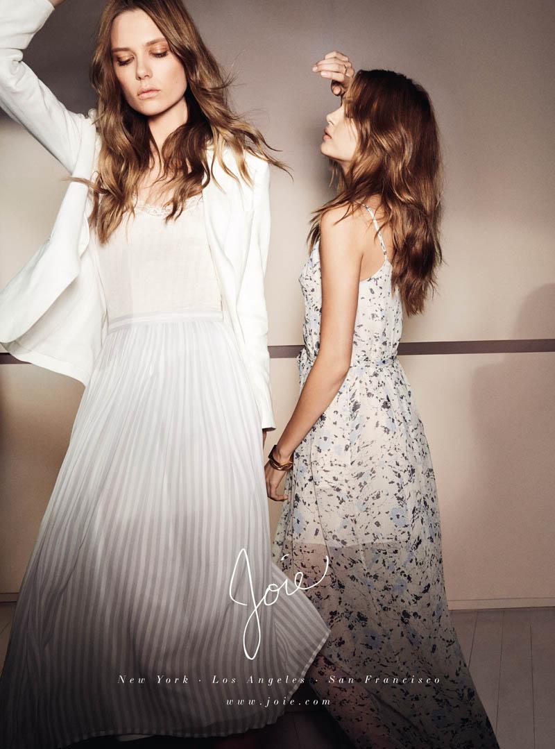 joie spring 2014 campaign3 Caroline Brasch Nielsen + Josephine Skriver Front Joie Spring/Summer 2014 Campaign