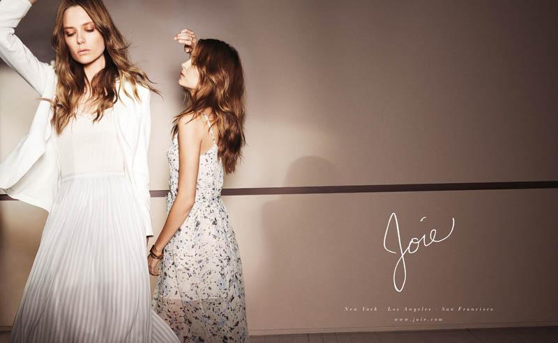 joie spring 2014 campaign4 Caroline Brasch Nielsen + Josephine Skriver Front Joie Spring/Summer 2014 Campaign