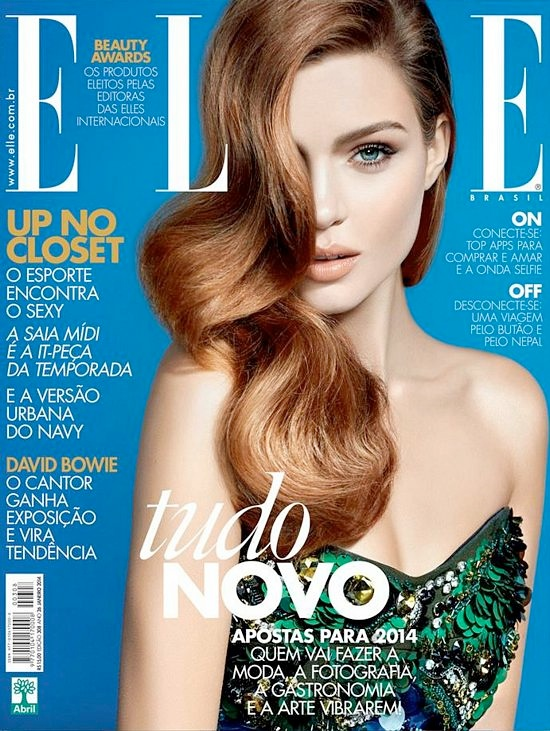 Josephine Skriver Poses in Brooklyn for Elle Brazil Cover Shoot