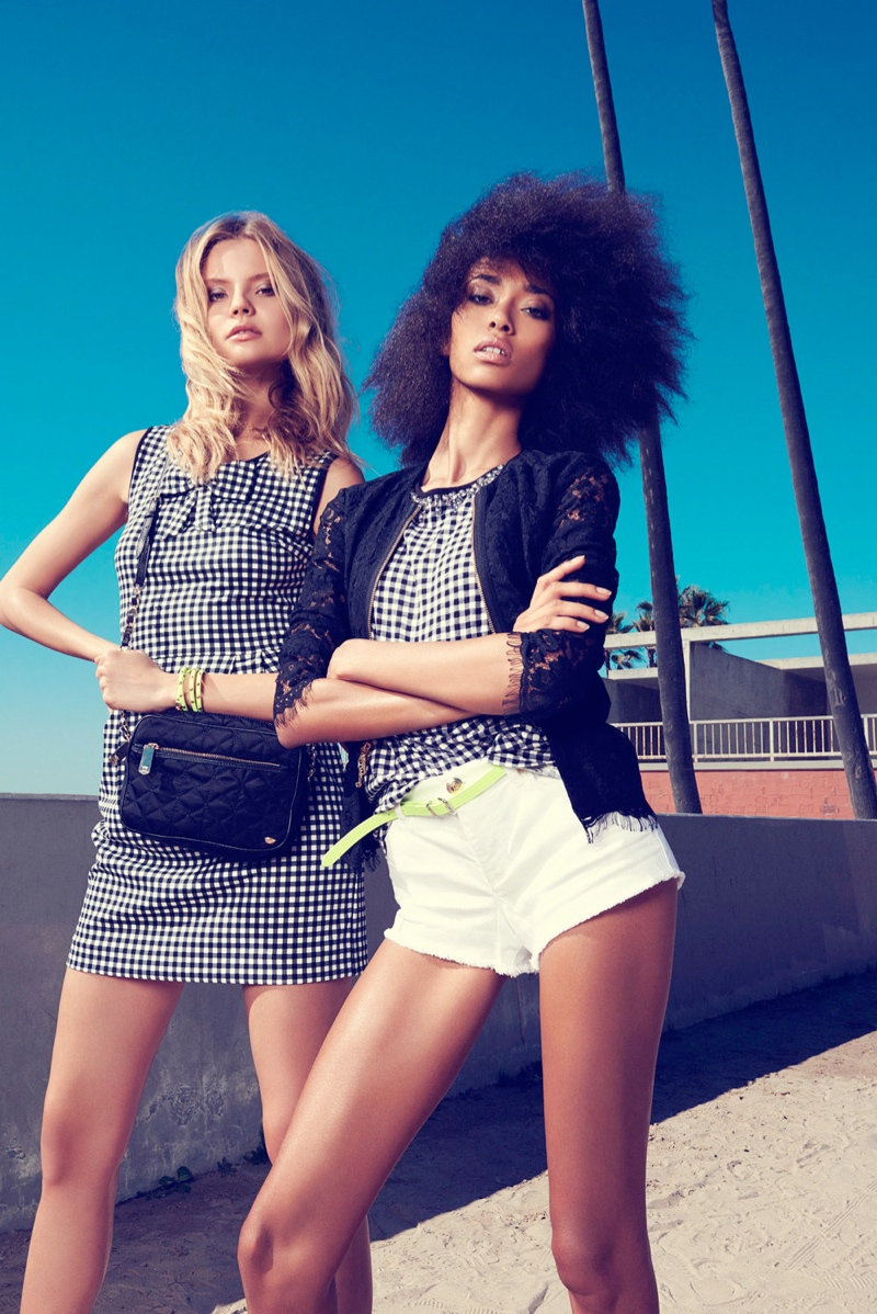juicy couture venice beach11 Magdalena Frackowiak + Anais Mali Hit Venice Beach for Juicy Couture