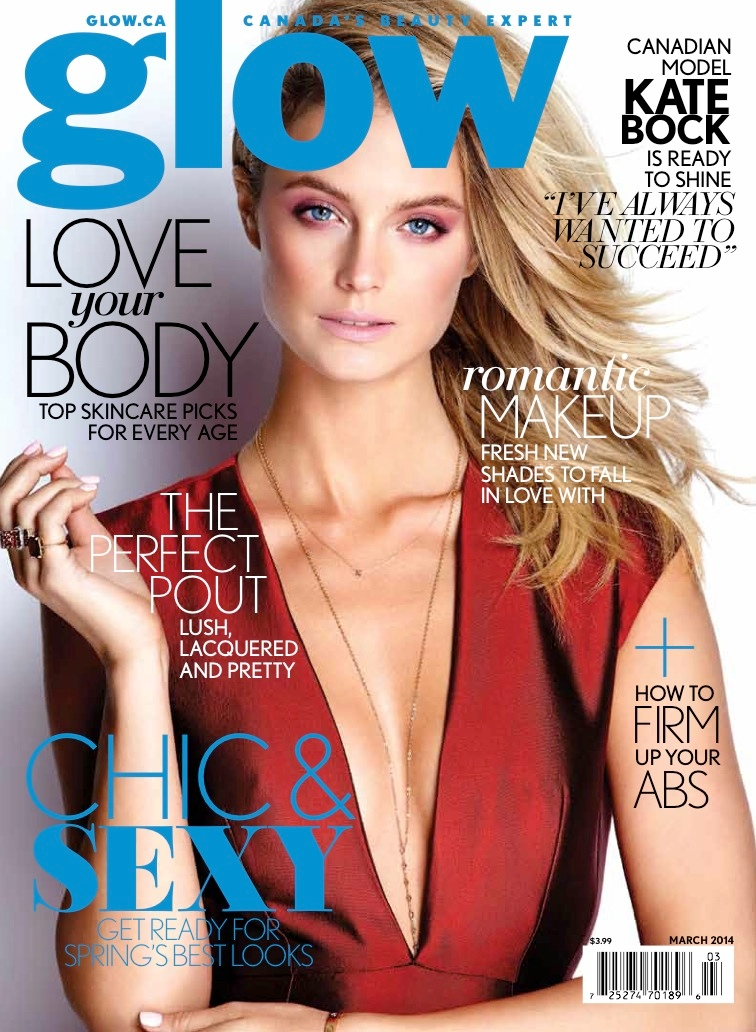 kate bock model4 Kate Bock is Sporty Chic for Glow Magazine March 2014
