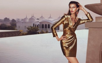 Kate King Shines in Metallics for How to Spend It by Andrew Yee