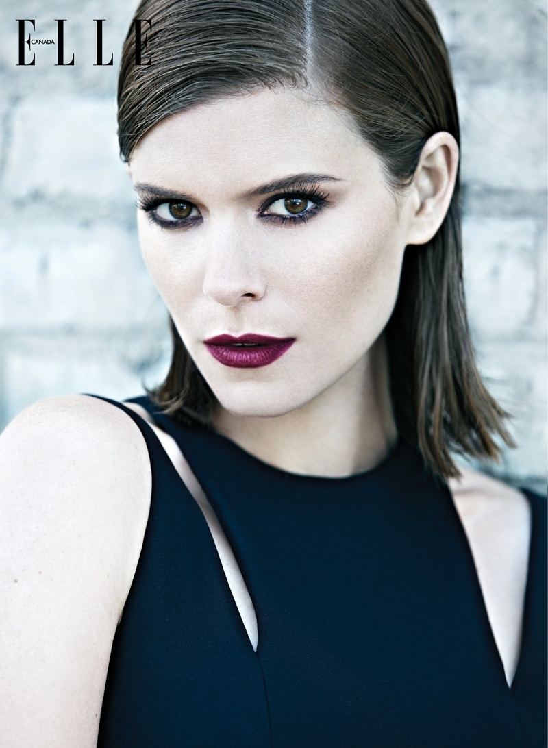 Kate Mara Poses for Elle Canada's February 2014 Cover Story