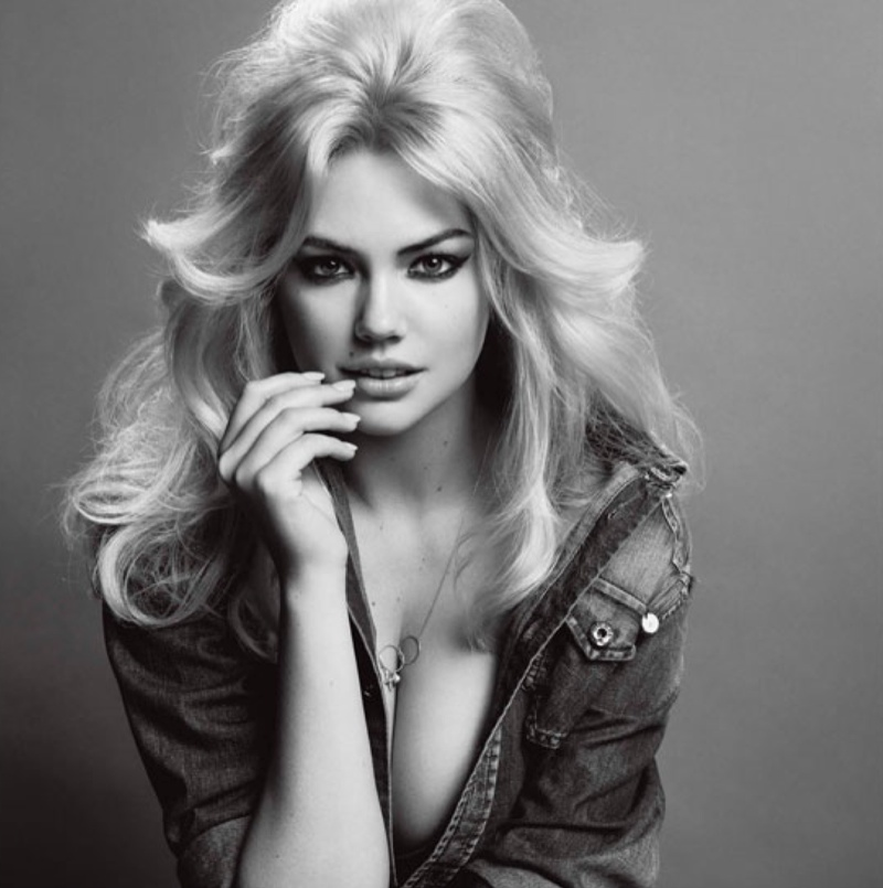 kate upton inez vinoodh1 Kate Upton Stars in V Magazine Photos, Adresses Victorias Secret Slam