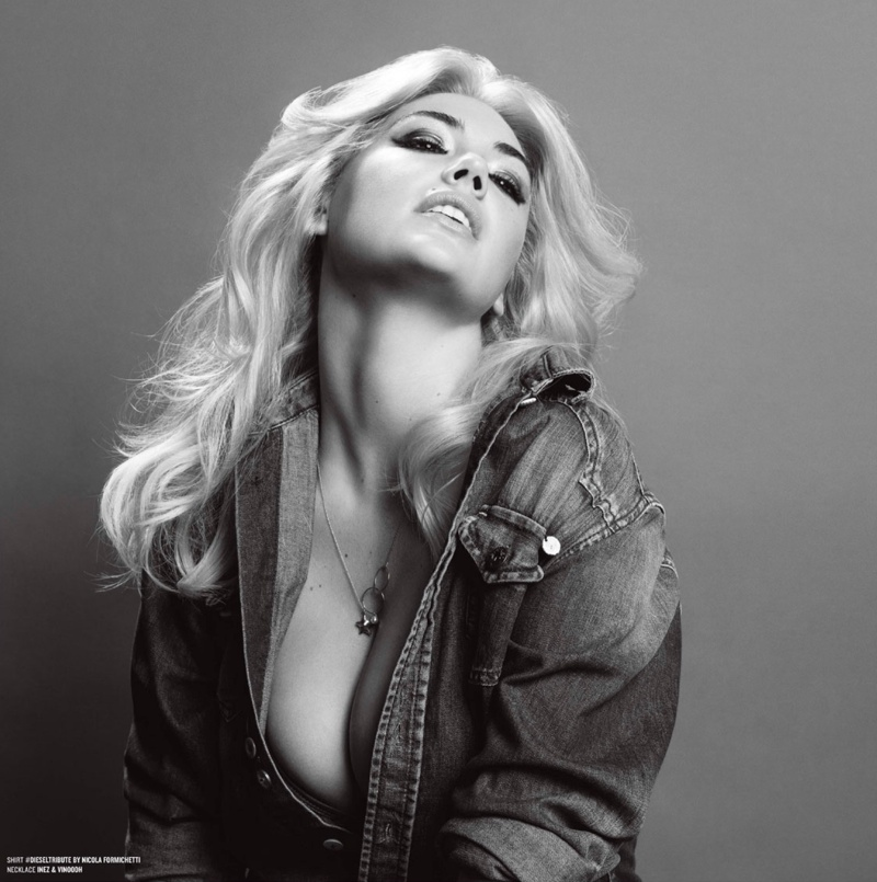 kate upton inez vinoodh4 Kate Upton Stars in V Magazine Photos, Adresses Victorias Secret Slam