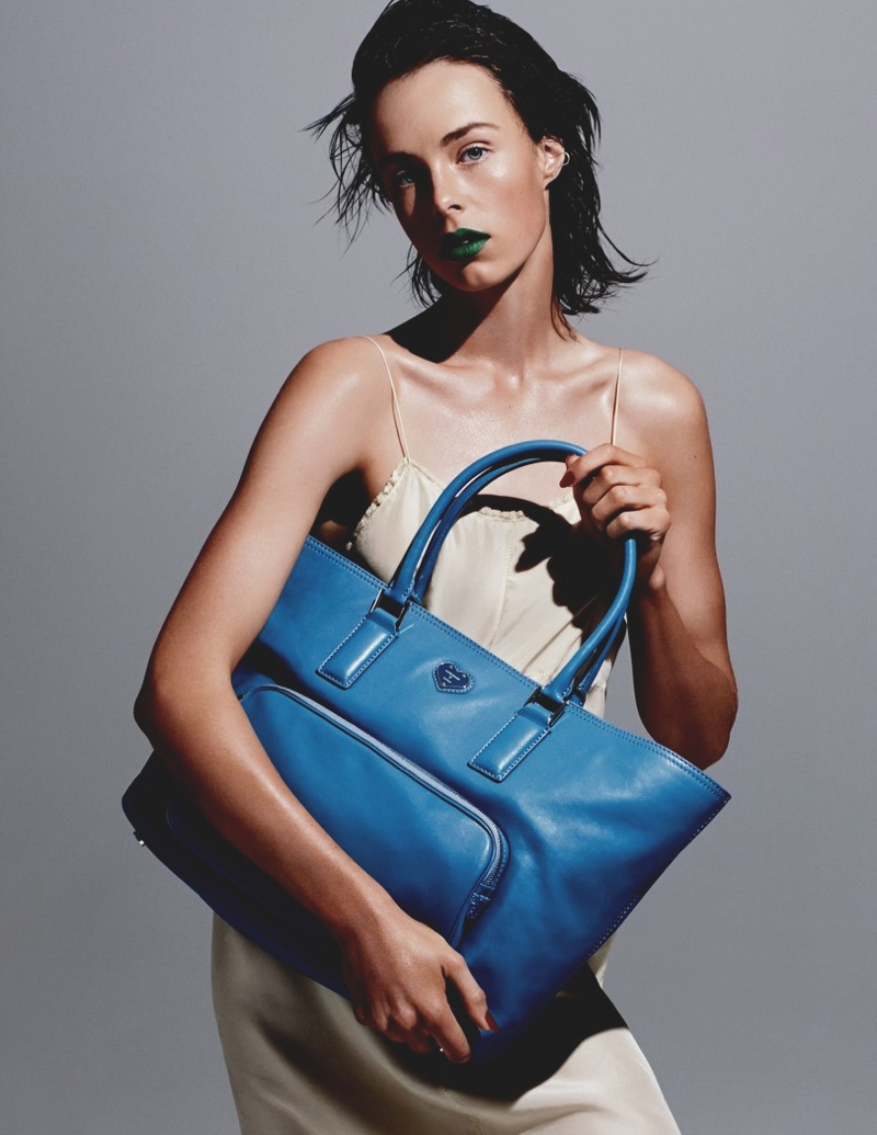 katie grand hogan spring 2014 26 Liu Wen, Linda Evangelista, Edie Campbell for Katie Grand Loves Hogan Spring 2014