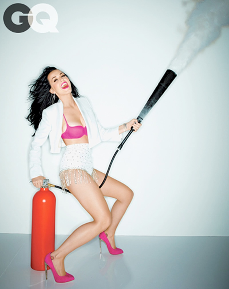 Katy Perry Looks Hot in GQ February 2014 Cover Shoot