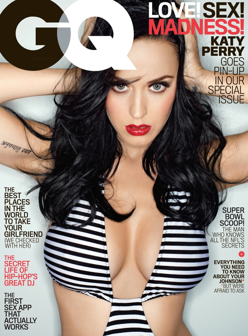 katy perry hot photos5 Katy Perry Looks Hot in GQ February 2014 Cover Shoot