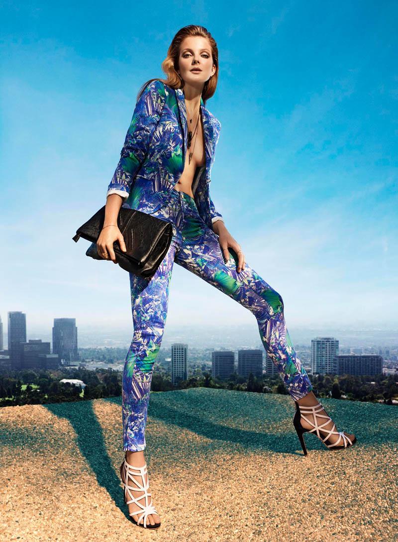 Eniko Mihalik Stuns in Kocca Spring 2014 Ads by Hunter & Gatti