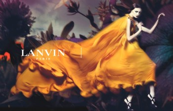 Throwback Thursday | Olga Sherer for Lanvin Spring 2008 Campaign