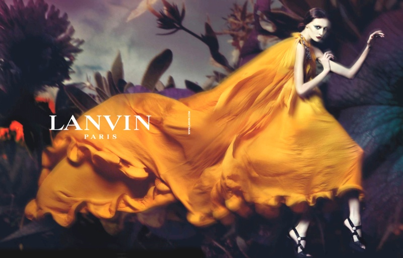 lanvin spring 2008 campaign1 Throwback Thursday | Olga Sherer for Lanvin Spring 2008 Campaign