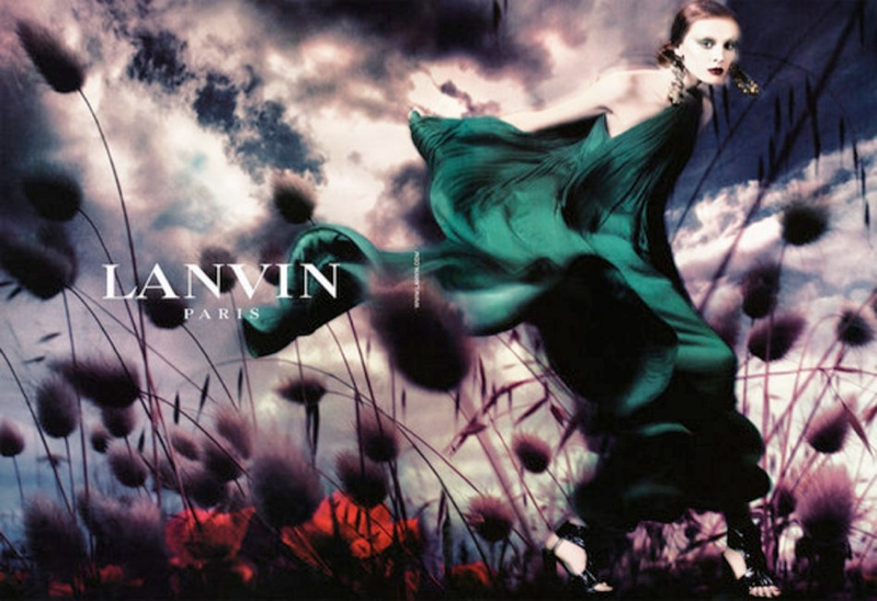 Throwback Thursday | Olga Sherer for Lanvin Spring 2008 Campaign