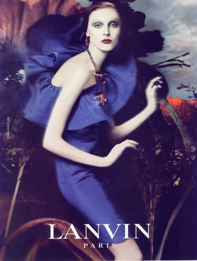 lanvin spring 2008 campaign4 Throwback Thursday | Olga Sherer for Lanvin Spring 2008 Campaign