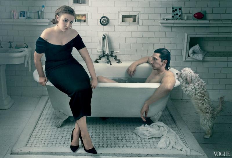 Lena Dunham's Vogue Cover Has Arrived