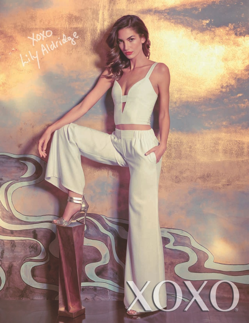 Lily Aldridge Stars in XOXO's Spring/Summer 2014 Campaign