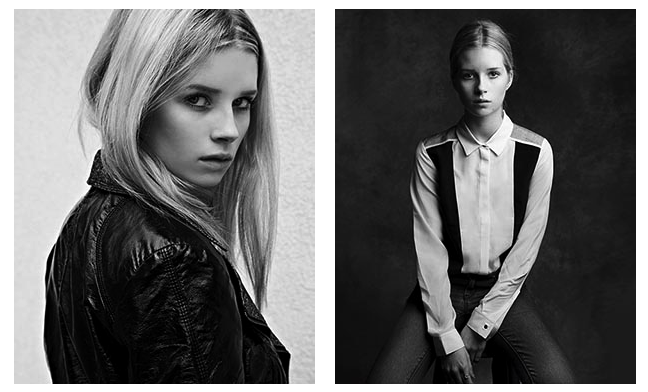 Lottie Moss, Kate's Sister, Signed to Storm Models