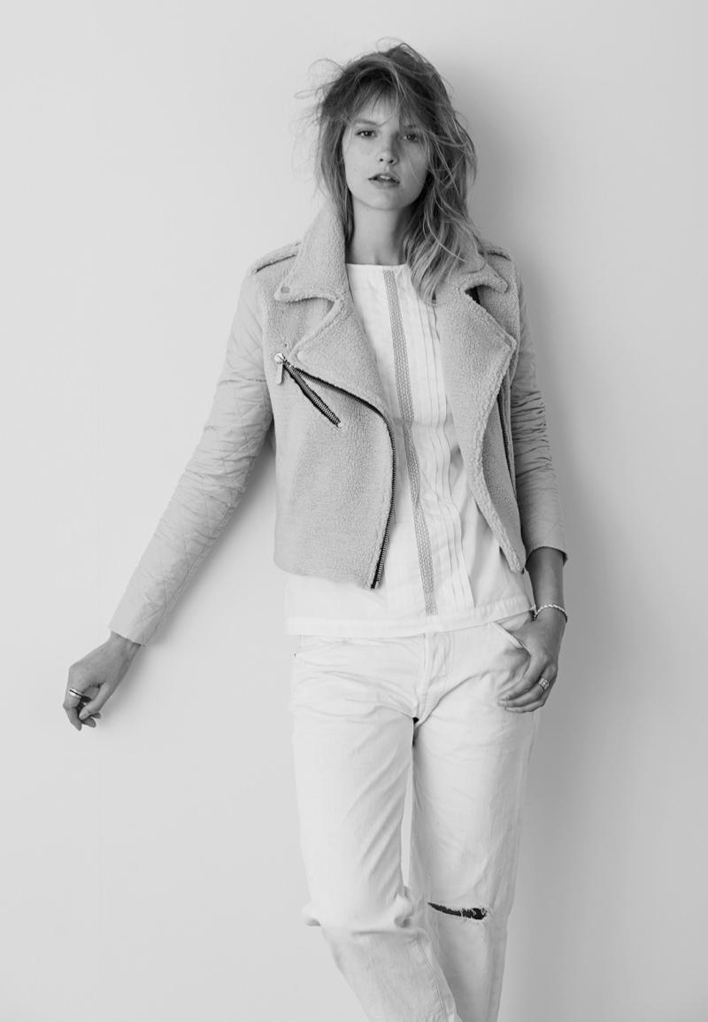 madewell sara4 Sara Blomqvist Models Madewell, Shot by Eric Guillemain