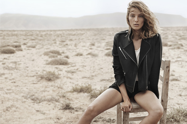 First Look | Daria Werbowy for Mango Spring/Summer 2014 Campaign