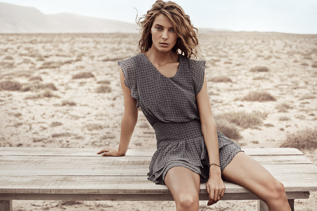 mango spring 2014 campaign3 First Look | Daria Werbowy for Mango Spring/Summer 2014 Campaign