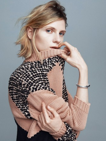Maria Loks Poses for Andreas Öhlund & Maria Therese for Styleby