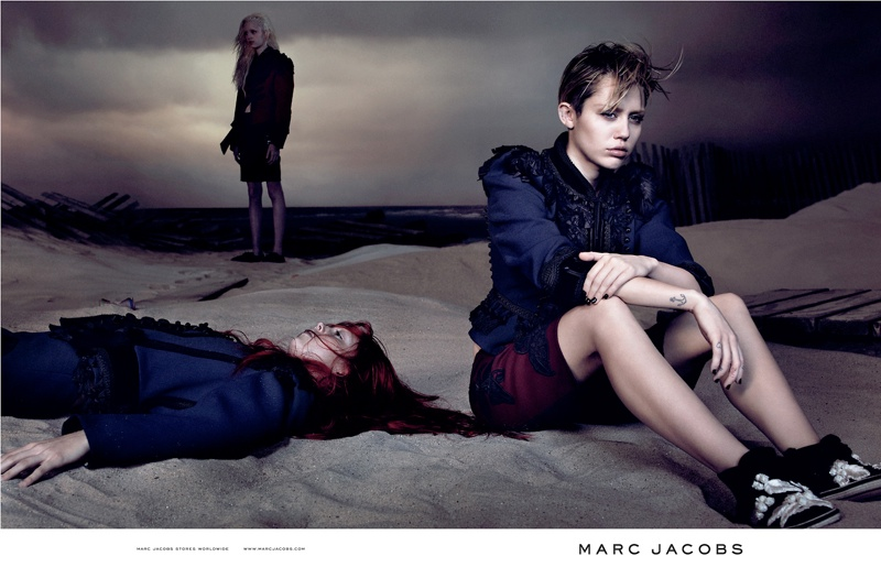 miley marc jacobs photos1 Juergen Teller Didnt Want to Shoot Miley for Marc Jacobs Ads