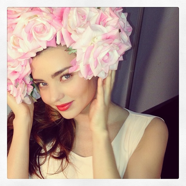 miranda flower Instagram Photos of the Week | Doutzen Kroes, Anja Rubik + More Model Pics
