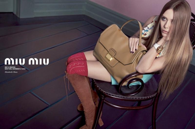 miu miu spring 2014 campaign3 Miu Miu Taps Lupita Nyongo, Elle Fanning + More for Spring 2014 Ads