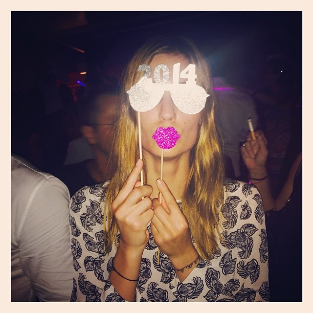nadja bender 2014 Instagram Photos of the Week | Hilary Rhoda, Sara Sampaio + More Model Pics