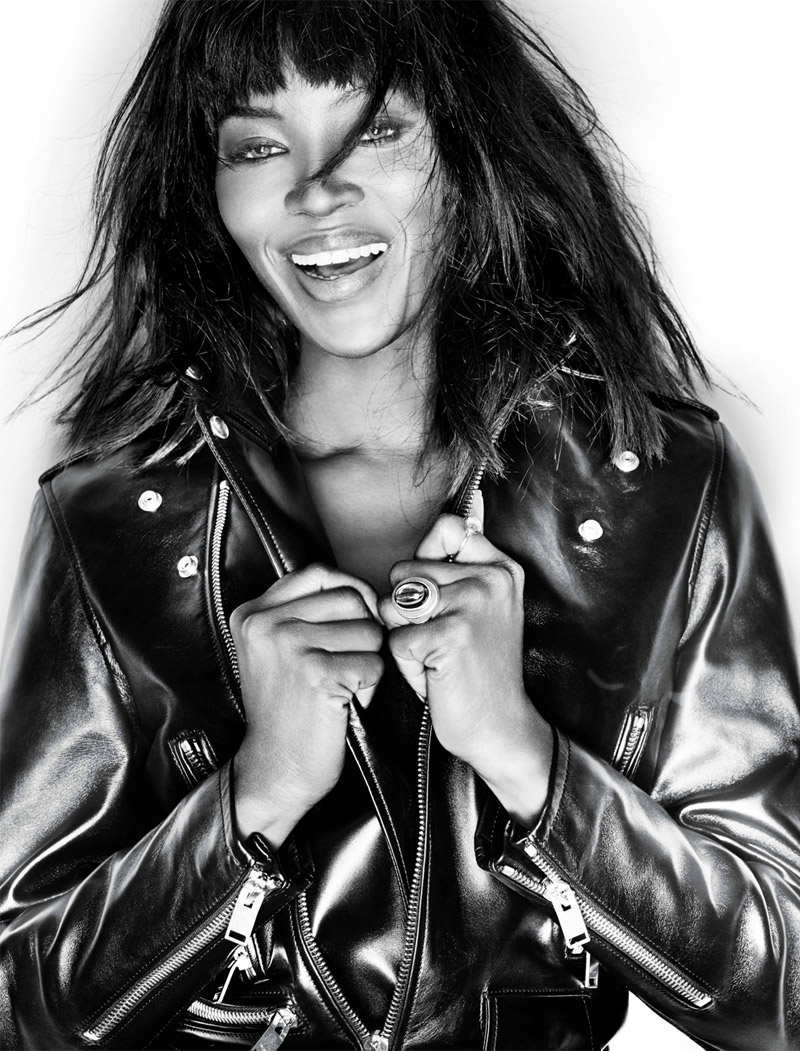 naomi capmbell gan photo shoot2 Naomi Campbell Poses for Gan in Harpers Bazaar Singapore January 2014