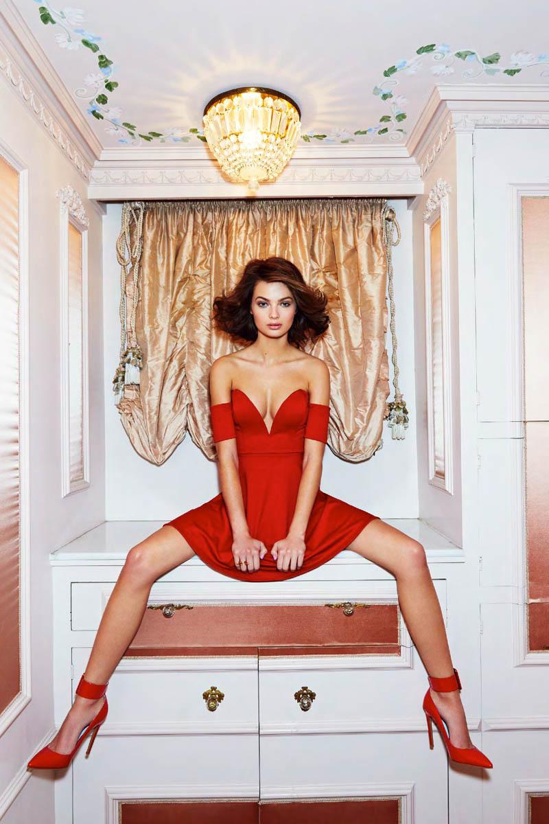 Moa Aberg + Camilla Christensen Front Nasty Gal Valentine's Day Lookbook