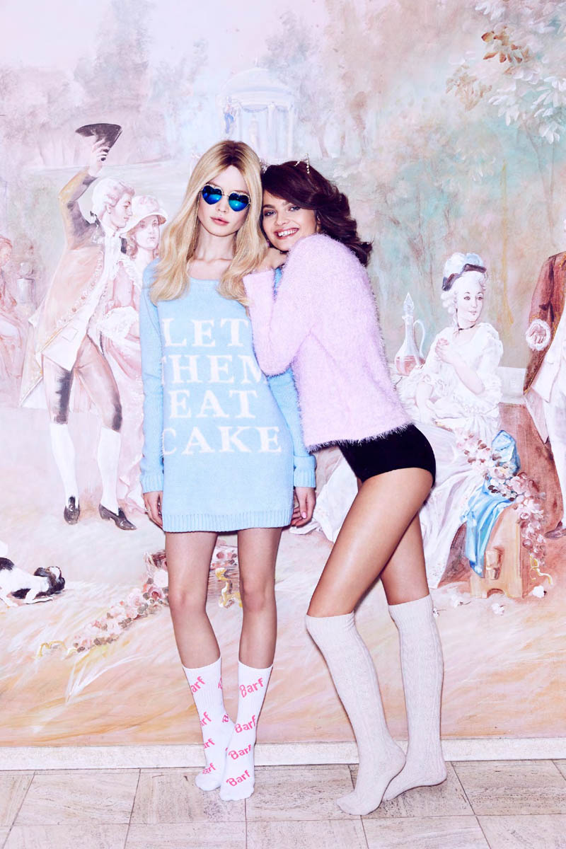 nasty gal valentines day 10 Moa Aberg + Camilla Christensen Front Nasty Gal Valentines Day Lookbook