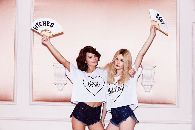 nasty gal valentines day 15 Moa Aberg + Camilla Christensen Front Nasty Gal Valentines Day Lookbook