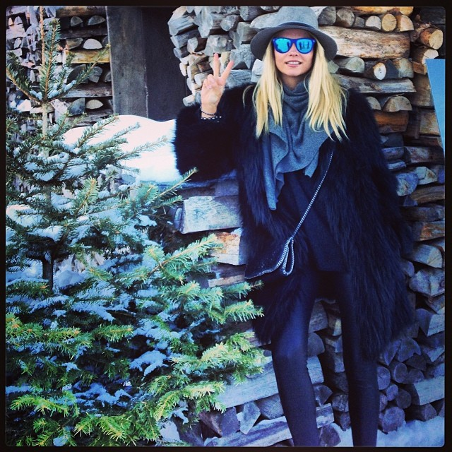 natasha outside Instagram Photos of the Week | Doutzen Kroes, Anja Rubik + More Model Pics