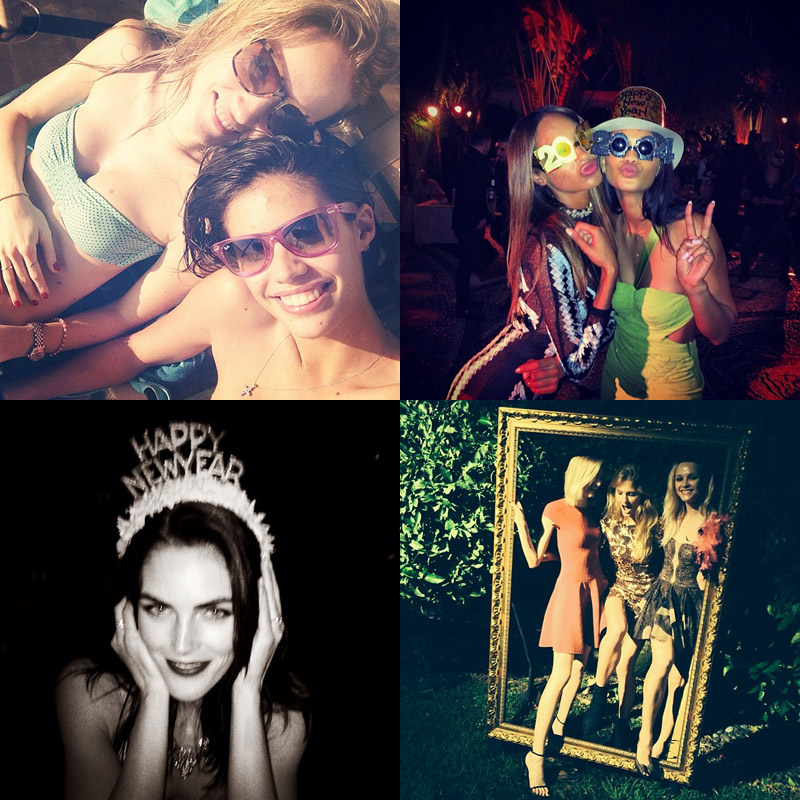 new year instagram models Instagram Photos of the Week | Hilary Rhoda, Sara Sampaio + More Model Pics
