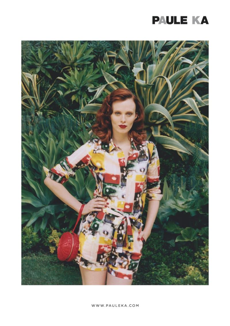 paule ka spring 2014 campaign3 Karen Elson Stars in Paule Ka Spring/Summer 2014 Campaign