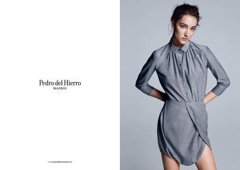 Pedro del Hierro Madrid Spring/Summer 2014 Campaign Featuring Josephine Le Tutour