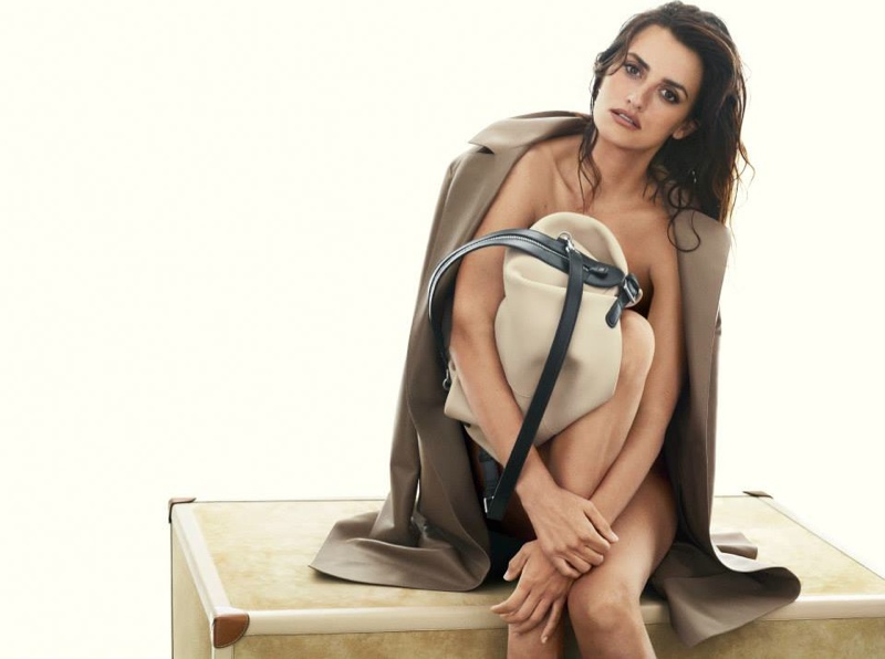 penelope cruz loewe spring ads4 Penelope Cruz Fronts Loewe Spring/Summer 2014 Campaign
