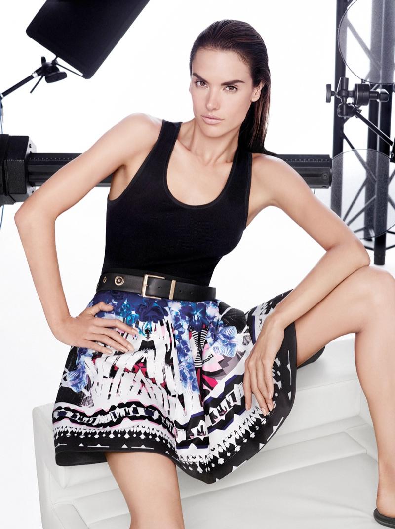 pinko spring summer 2014 campaign1 Alessandra Ambrosio Fronts Pinko Spring/Summer 2014 Campaign