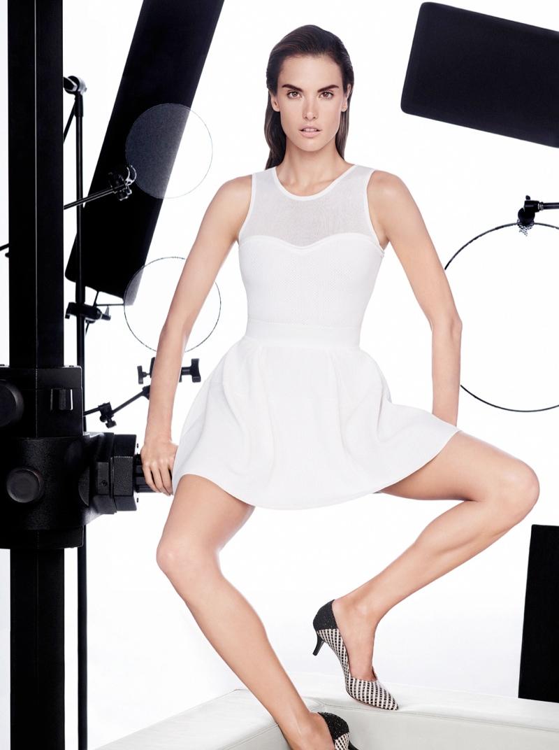 pinko spring summer 2014 campaign5 Alessandra Ambrosio Fronts Pinko Spring/Summer 2014 Campaign