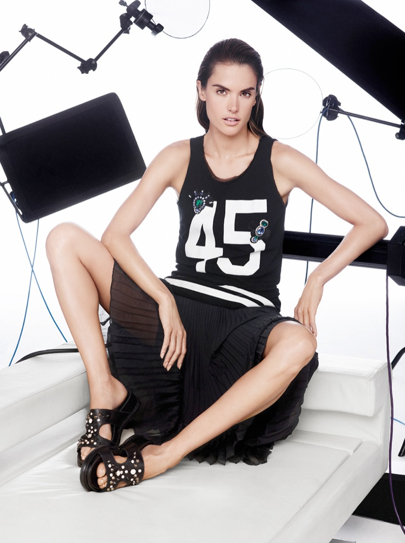 pinko spring summer 2014 campaign9 Alessandra Ambrosio Fronts Pinko Spring/Summer 2014 Campaign