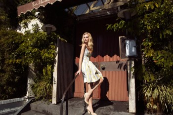 Poppy Delevingne Poses for Stylebop British Designer Exclusive Collection