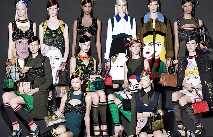 See Prada's Complete Spring 2014 Campaign by Steven Meisel