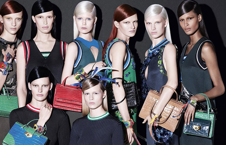 prada spring summer 2014 campaign4 See Pradas Complete Spring 2014 Campaign by Steven Meisel
