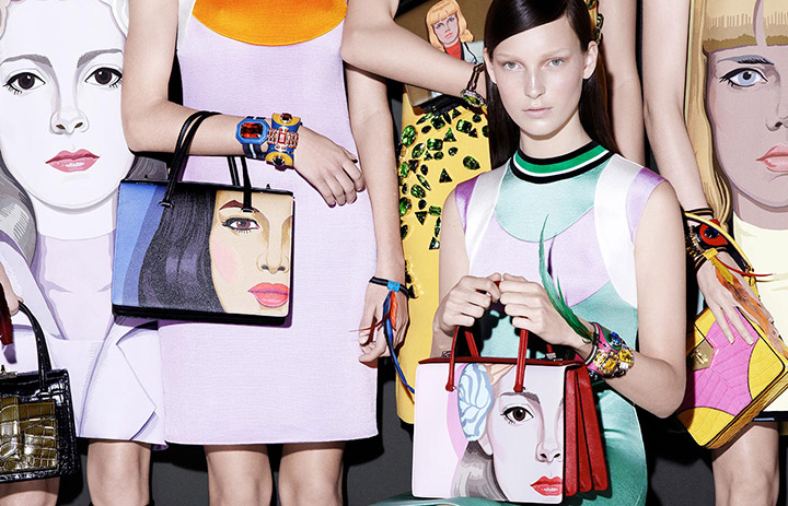 prada spring summer 2014 campaign5 See Pradas Complete Spring 2014 Campaign by Steven Meisel