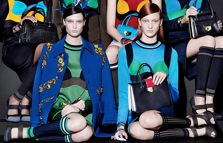prada spring summer 2014 campaign6 See Pradas Complete Spring 2014 Campaign by Steven Meisel