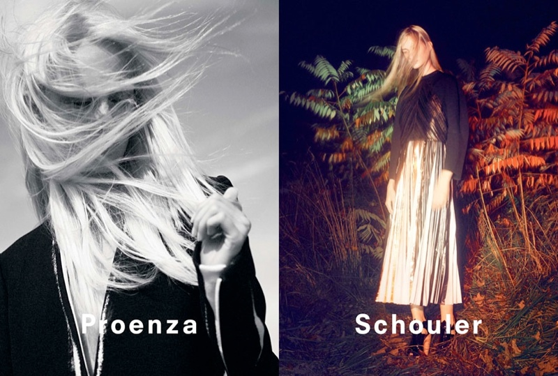 proenza schouler spring 2014 campaign2 David Sims Captures Proenza Schoulers Spring/Summer 2014 Campaign