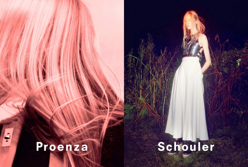 David Sims Captures Proenza Schouler's Spring/Summer 2014 Campaign
